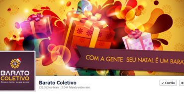 Capas corporativas de Natal no Facebook