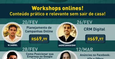 Workshops online sobre marketing digital