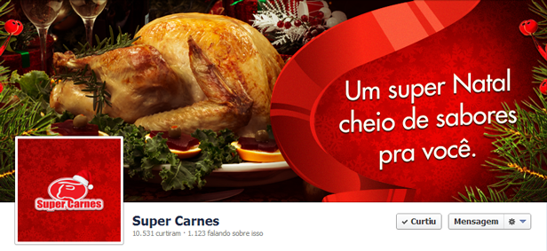 capas de natal corporativas no facebook